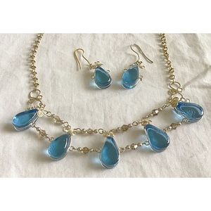 SKYDROP Necklace & Earrings Hand-Crafted Peru NWT